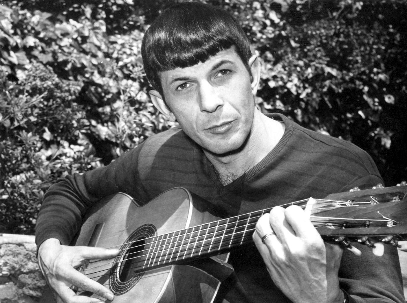 Spock Illogical Guitar