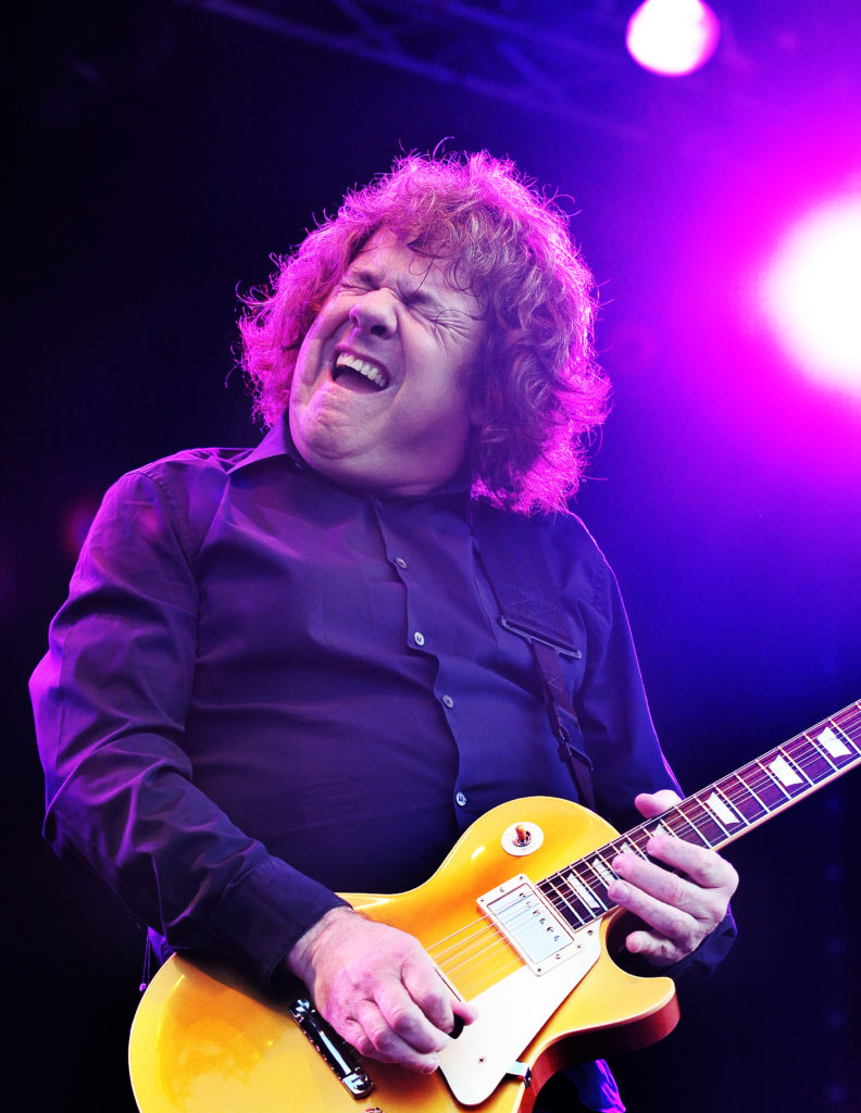 Gary Moore, blues-rock guitar master